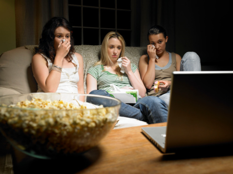 Watching movies online